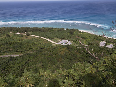 View of Ritidian Point from Anderson Air Force Base, Guam