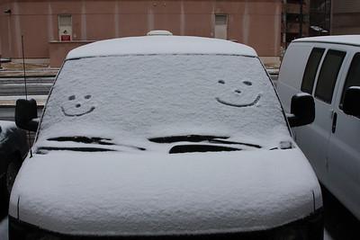 Happy Snow Mobile