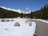 When we got back to Camp Dick on Sunday we found that the roads had all melted out and were dry!