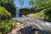 Minnehaha Falls in Minneapolis.