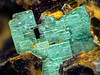Metatorbernite; Fletcher Mine; FOV ~ 1.6 mm