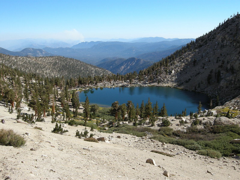 Silver Lake, nestled in its glacially-carved bowl.