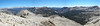 Panorama, looking east from Franklin Pass.