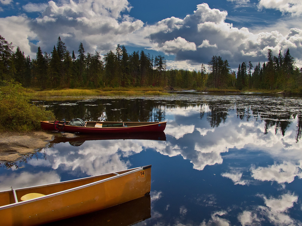 Portage, Boundary Waters Canoe Area Wilderness, MN