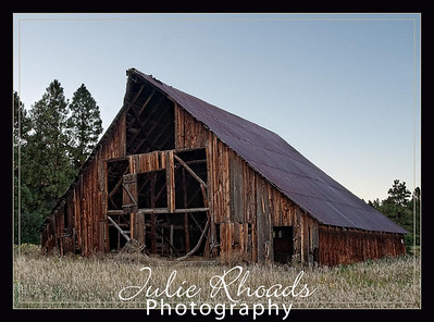 Barn in Bayfield Colorado