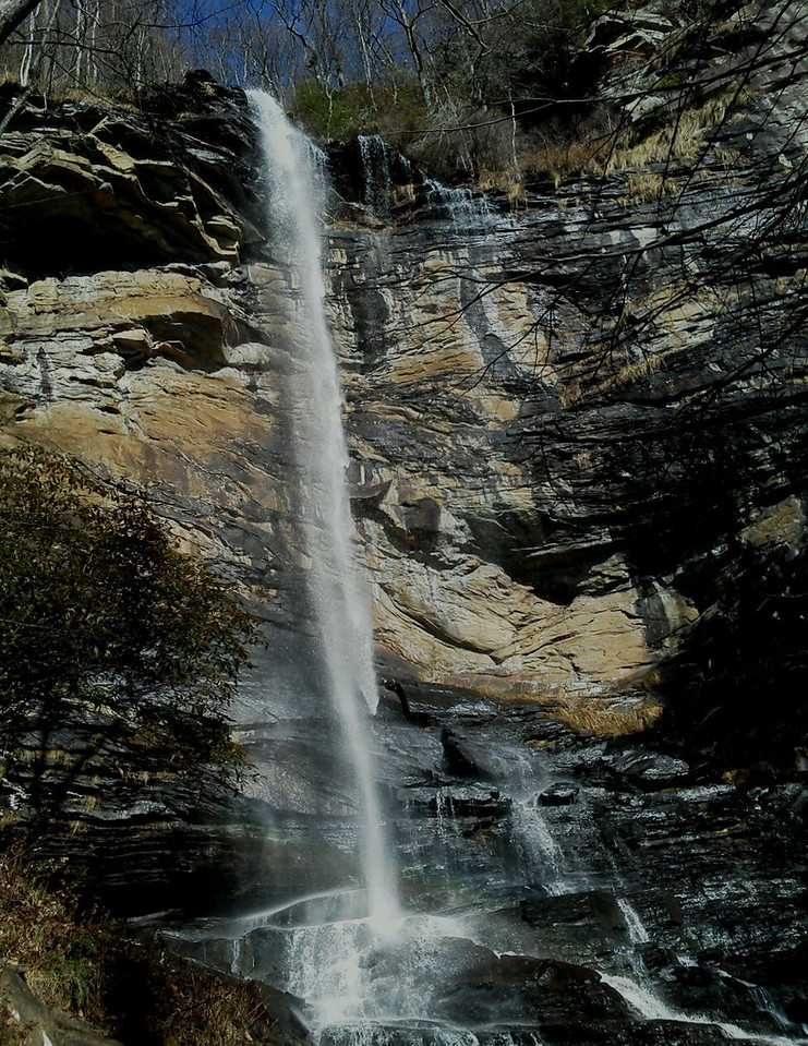 rainbow falls, jones gap sp, SC