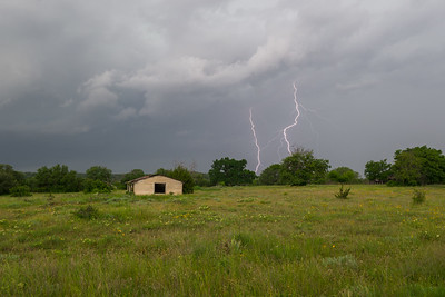 Texas Hill Country Lightning