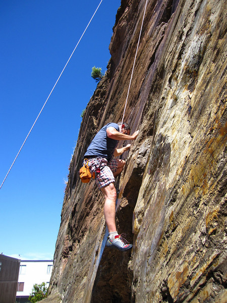 Castro Rock Climbing: June 17, 2010