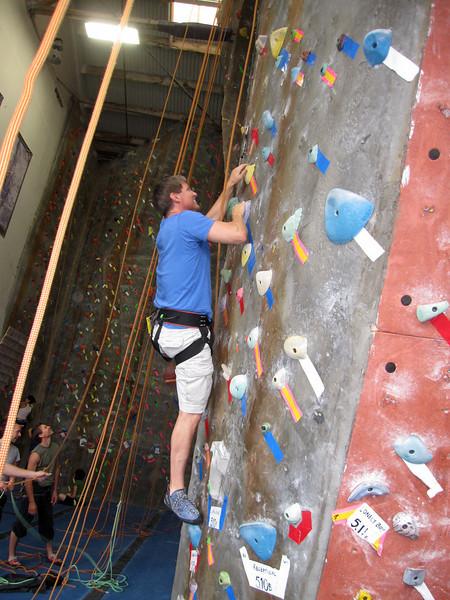 Mission Cliffs: Oct 24, 2010