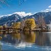 Pioneer Park pond, Brigham City, Utah