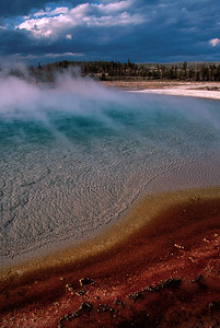 Biscuit Basin-Yellowstone National Park, Wyoming