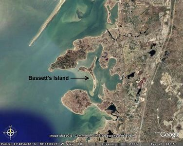 Bassett's Island, Upper Cape Cod, Massachusetts, USA