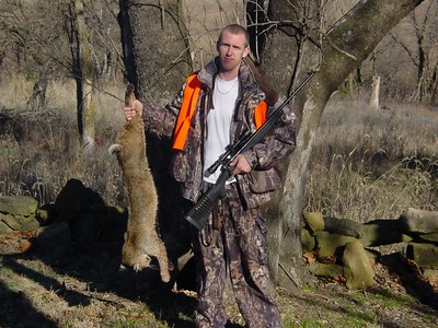 Matt with a Bobcat