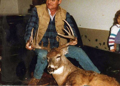 Dads Deer from 1990.