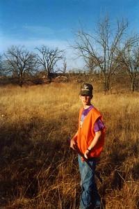 Matt hunting.
