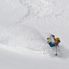 Jimmy skiing on Haystack