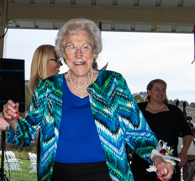 Shirley dancing it up at 91 yrs