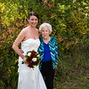 The pretty bride Mitzi and Shirley