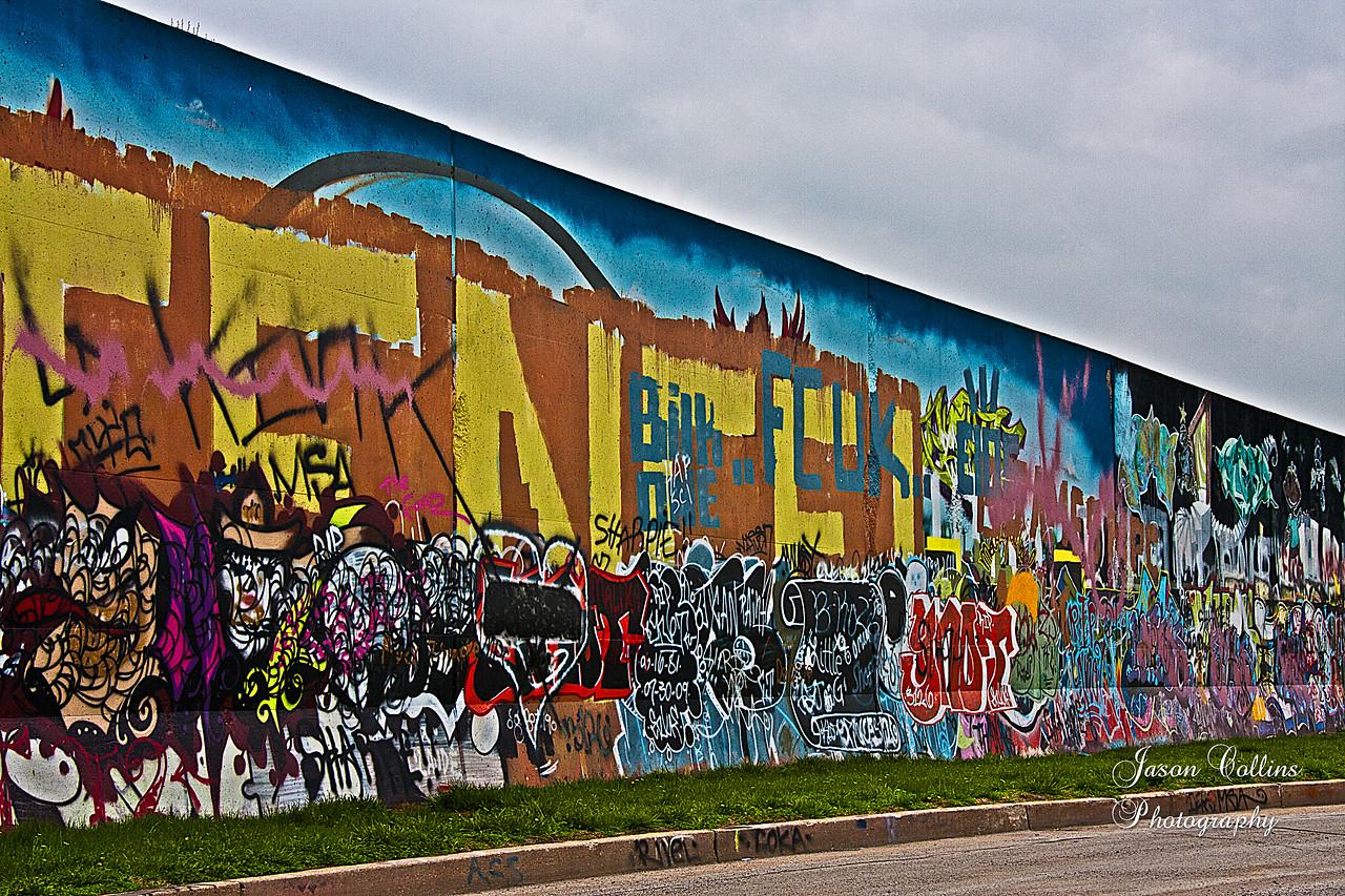St Louis Riverfront graffiti