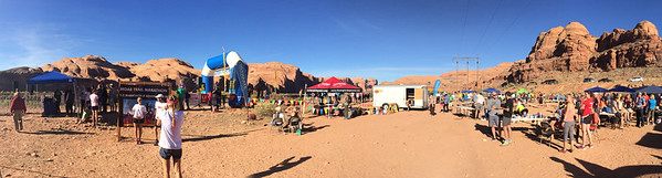 Moab Trail Marathon finish line