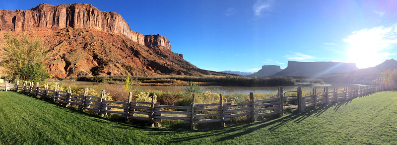 The view from Red Cliffs Lodge