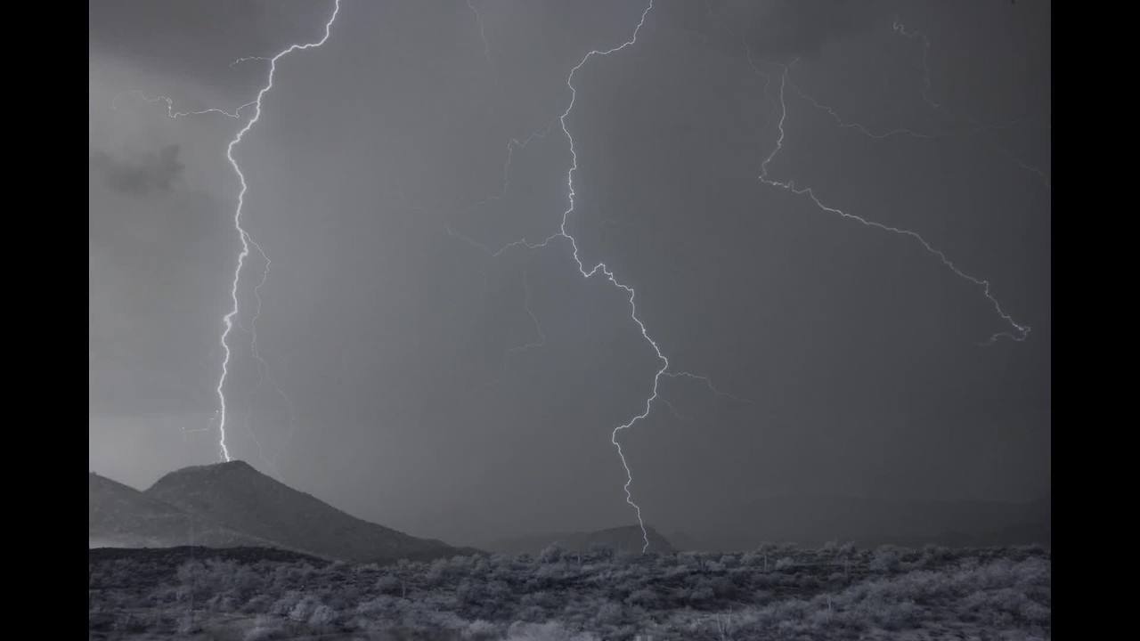 Monsoon Storm At Four Peaks Wilderness 2