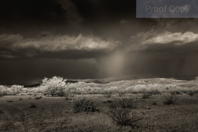 Infrared Monsoon Rain Shaft