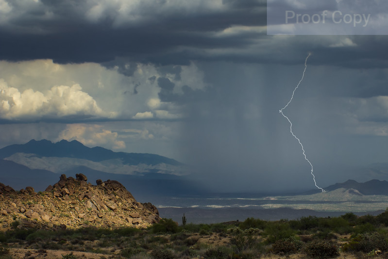 Monsoon Storm Over Verde Valley