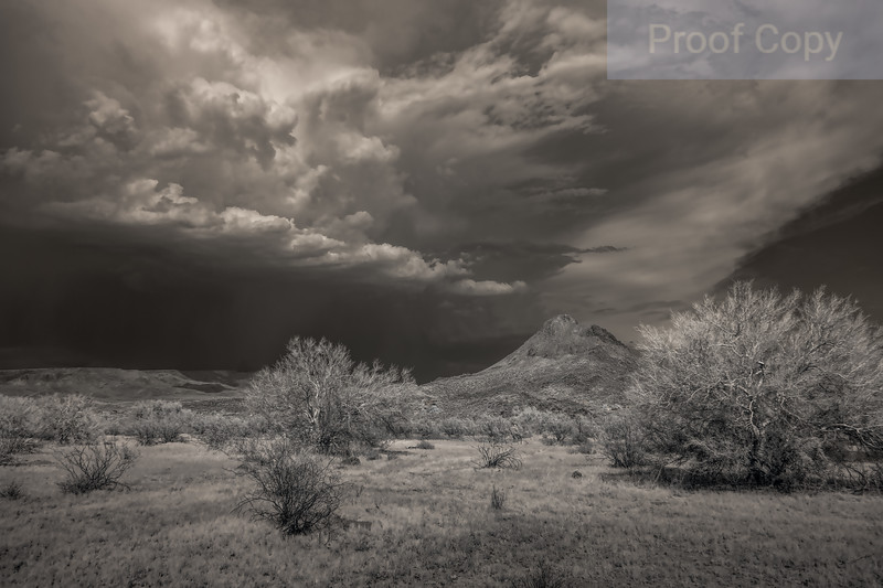 Storm Over Daisy Mountain