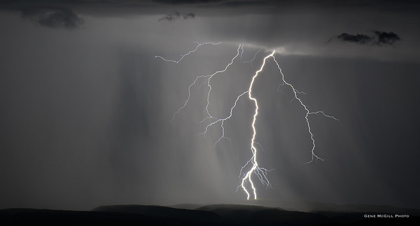 Lightning on the Uncompahgre Plateau
