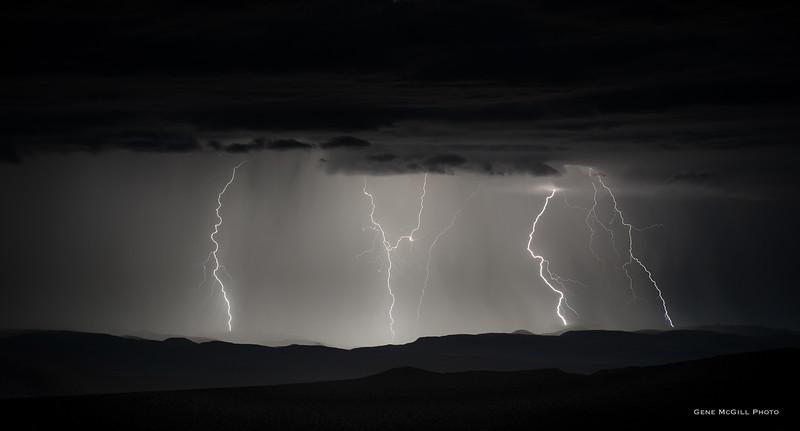 Lightning on the Uncompahgre Plateau