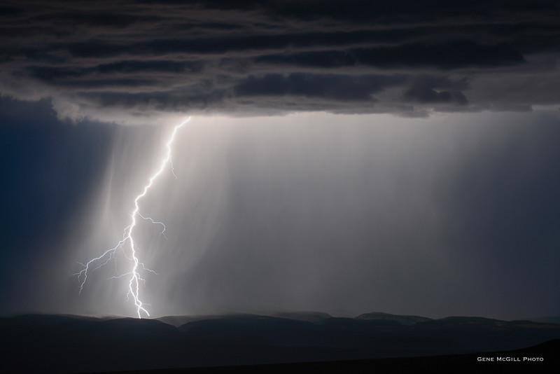 Monsoon over Uncompahgre