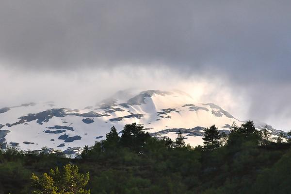 Skodde i fjellet..07.06.2011.