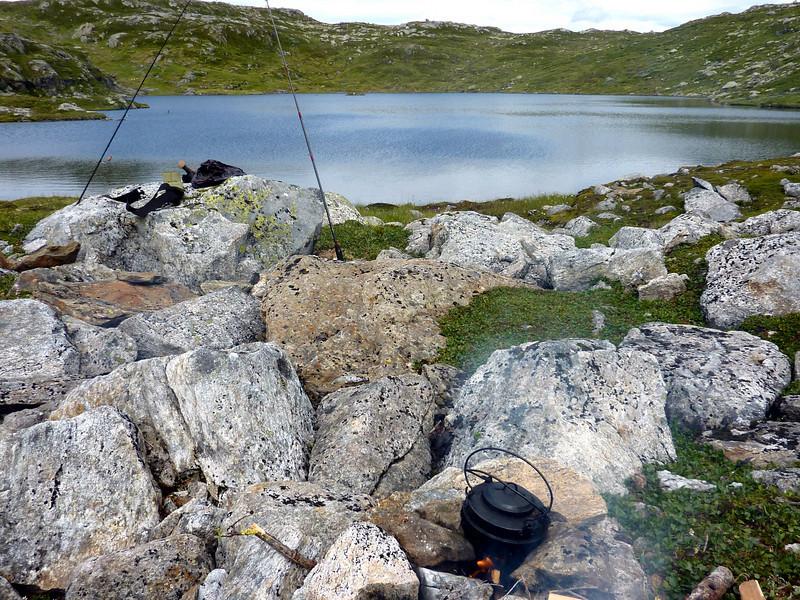 Tur på Gråsida 07.08.2010 Mange fiskevatn og velgja mellom...