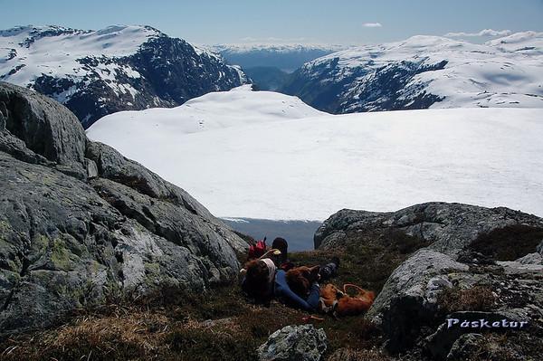 Kan ikkje klage på utsikten.. place with a wiew