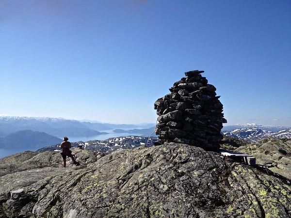 Karaldenuten 1295 moh i dag 15.08.2012