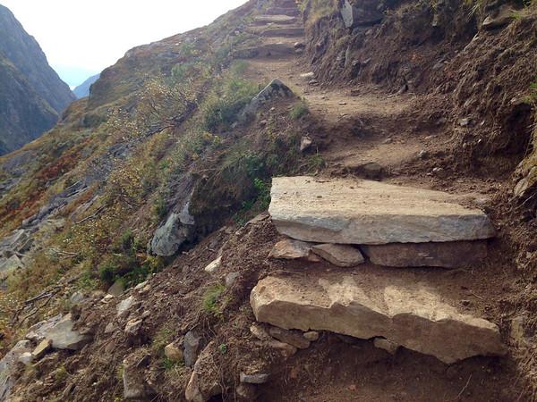 Tursti bygd av Sherpaer