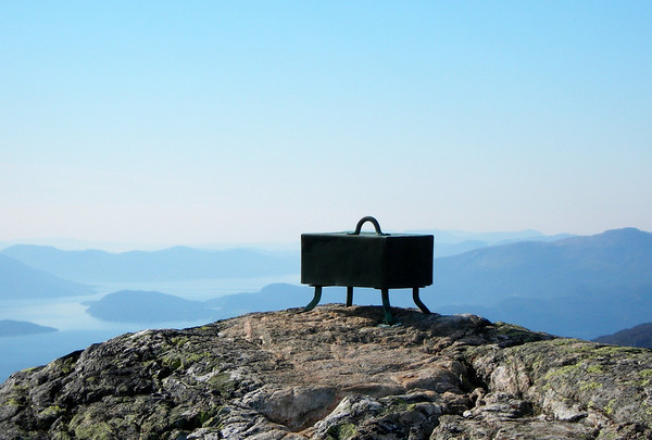 Skrinet på Karaldenuten 1295 moh.