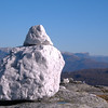 "White stone on montain ""Gråsida"""