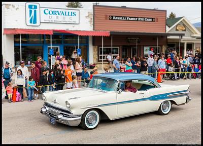 1957 Pontiac StarChief cruising in the Corvallis Memorial Day Parade.
