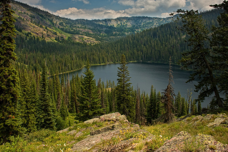 Upper Holland Lake - Bob Marshall Wilderness, MT