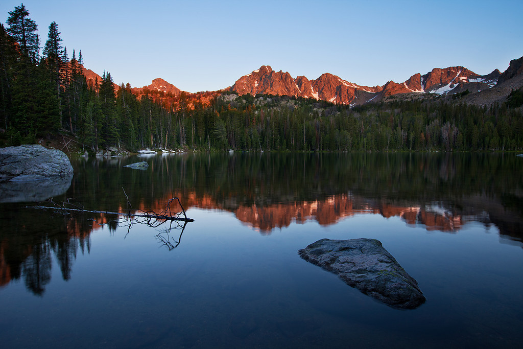 Gnome Lake, South Hilgard Basin, Lee Metcalf Wilderness, MT