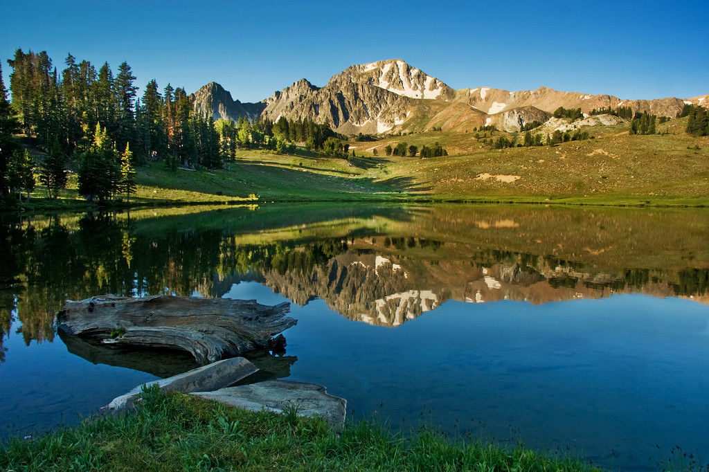 Expedition Lake 3, Hilgard Basin<br /> Lee Metcalf Wilderness, Montana