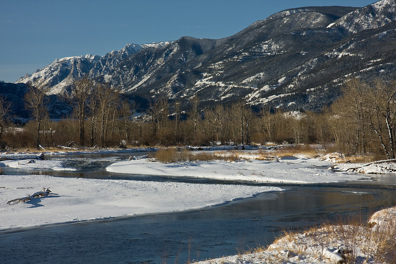 Stillwater River in Winter