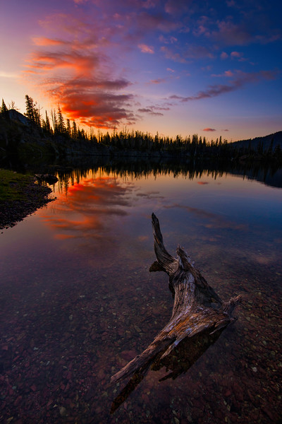 Suspended In Time - Sapphire Lakes, Bob Marshall Wilderness, MT