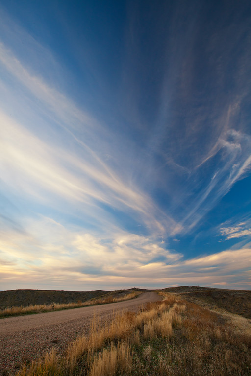 Big Sky and Country Road II, C.M. Russell National Wildlife Reserve