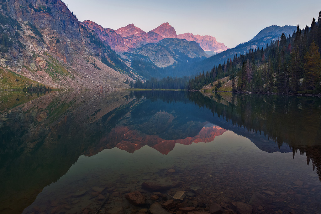 Echo Lake, Absaroka-Beartooth Wilderness, Montana