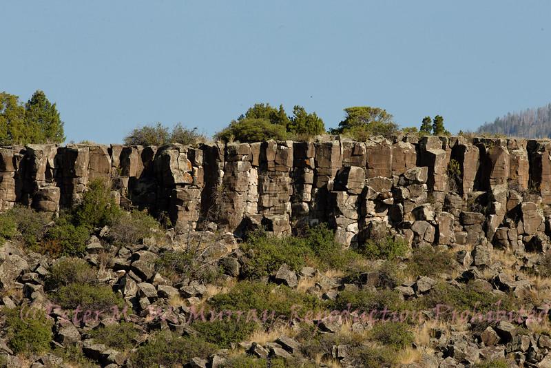 Balalt cap is a part of historic Bison Jump