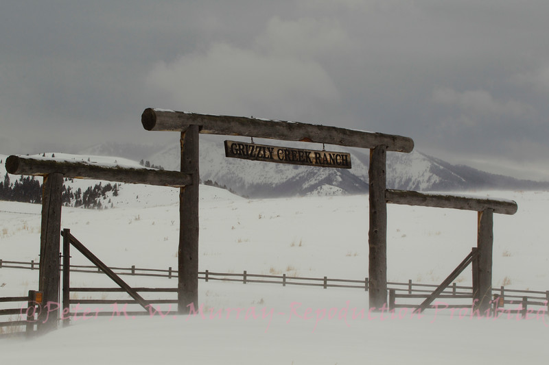 Grizzly Creek Ranch Feb 2018 on a calm day.