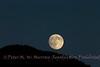 Moon Rise over the Absaroka Mts.